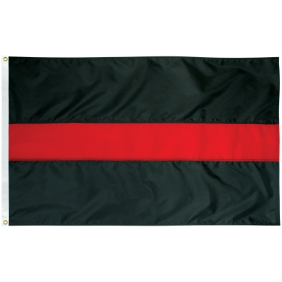2'x3' Thin Red Line flag